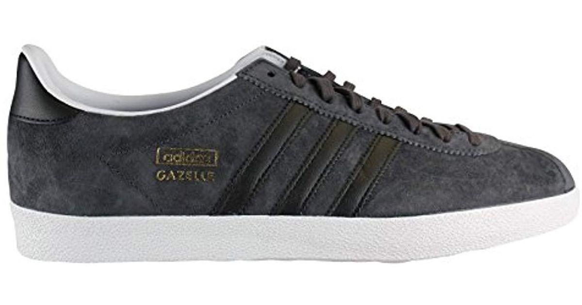 Adidas Black Originals Gazelle Og, Baskets Mode Homme for Men Lyst