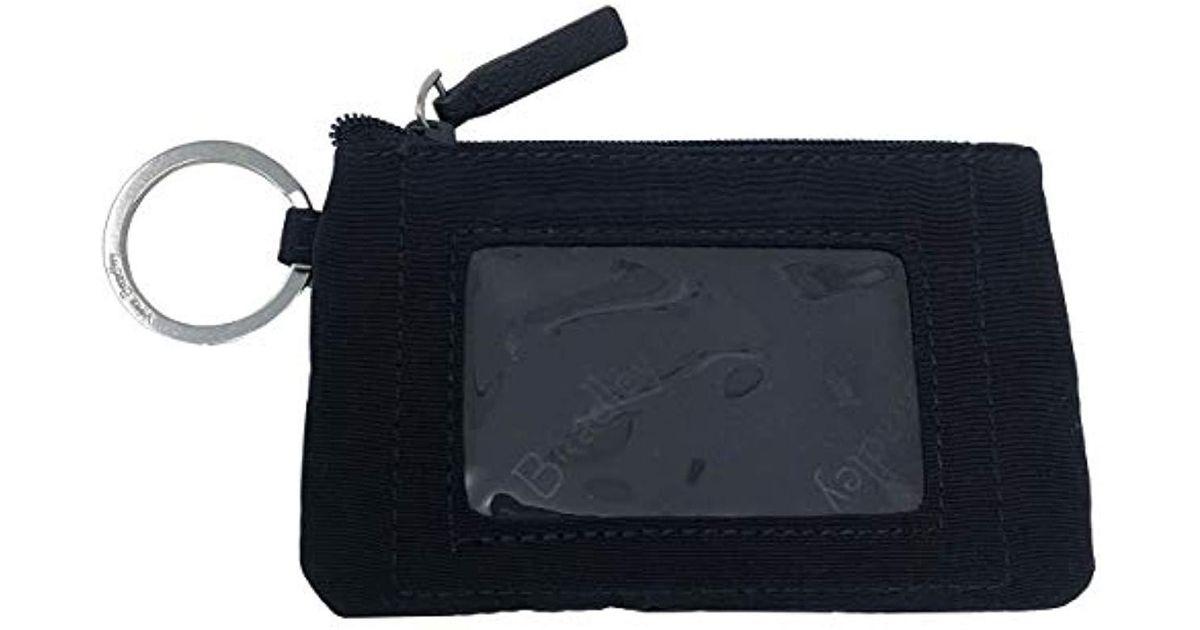 new product a9dbf 92765 Vera Bradley - Blue Zip Id Case, Signature Cotton - Lyst