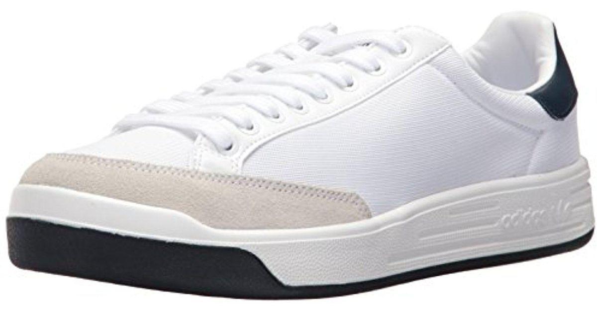 outlet store sale half price biggest discount Adidas Originals White Rod Laver Super Fashion Sneaker for men
