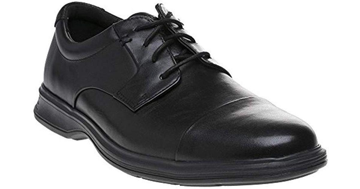 56cdc28fb09 Rockport 's Dp2 Lite Cap Toe Black Lea Oxfords in Black for Men - Lyst