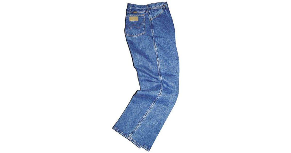 Wrangler Gold Buckle Stone Wash Jeans Long Inseams