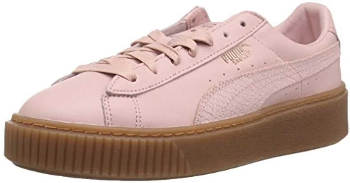 Basket Pink Sneaker Euphoria Platform Gum Puma v8wNnOm0