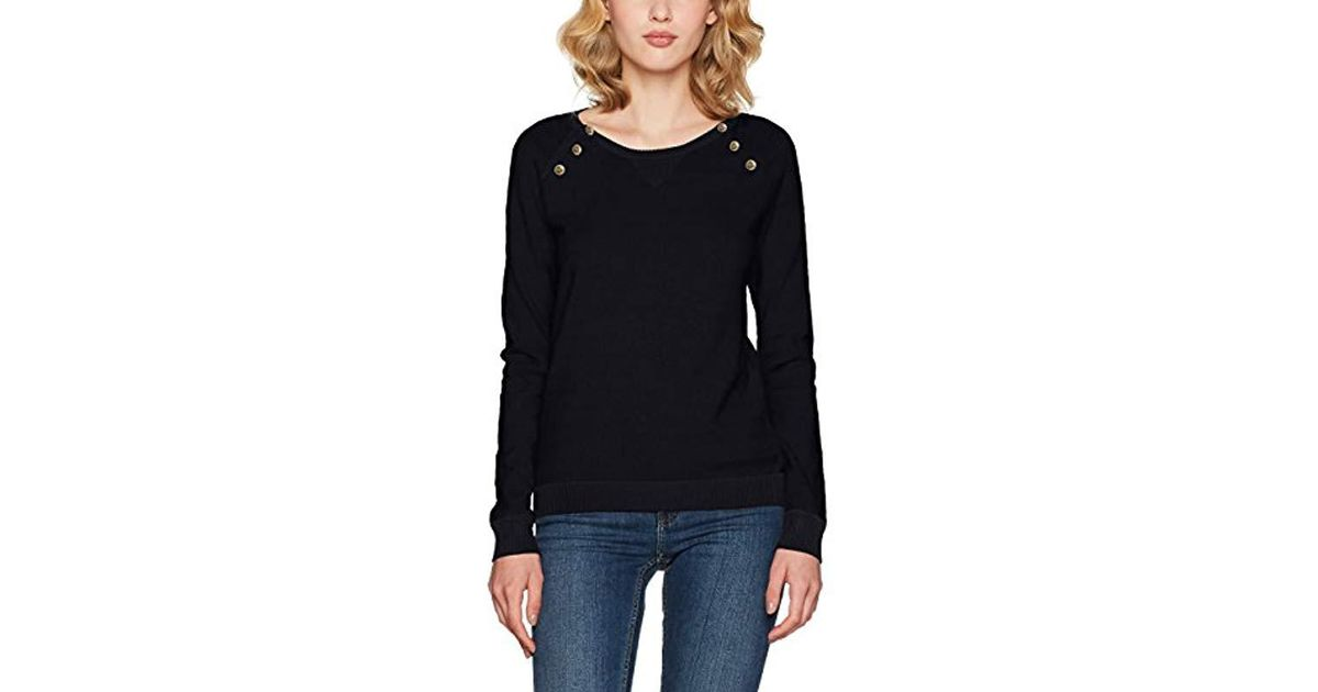 Scotch   Soda Fitted Pull With Buttons At Raglan Jumper in Blue - Lyst 706c24889796