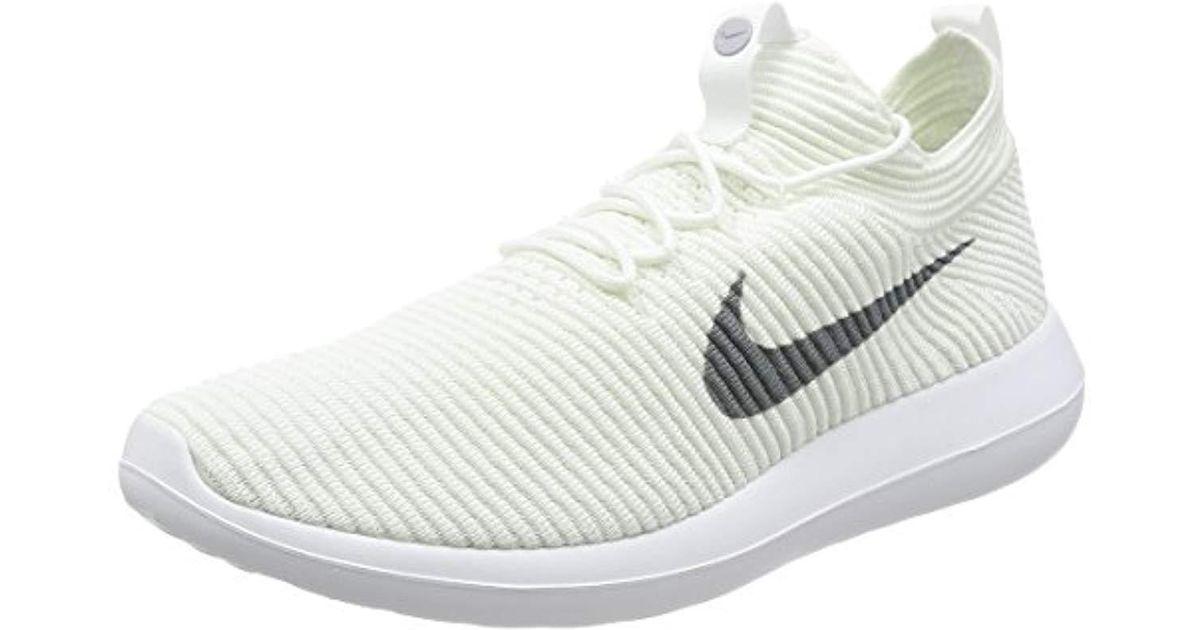 hot sale online 6d57d 28584 Nike - White ''s Roshe Two Flyknit V2 Trainers for Men - Lyst