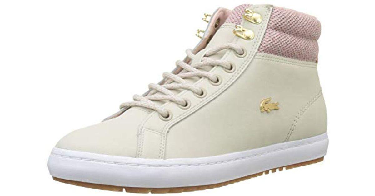 imwalking Damen Lacoste Sportschuhe Lacoste Sneaker Chaumont | 05021725982285