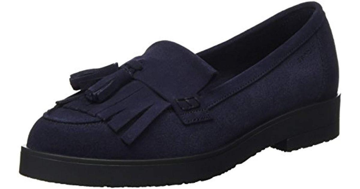 Lyst Fringetass's Esprit Blue Oska Loafers In PkN8nwOX0