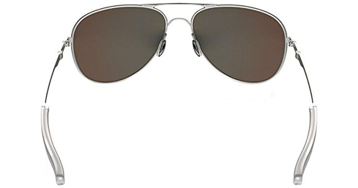 c216db72fc9 Lyst - Oakley Elmont M And L Polarized Iridium Aviator Sunglasses ...