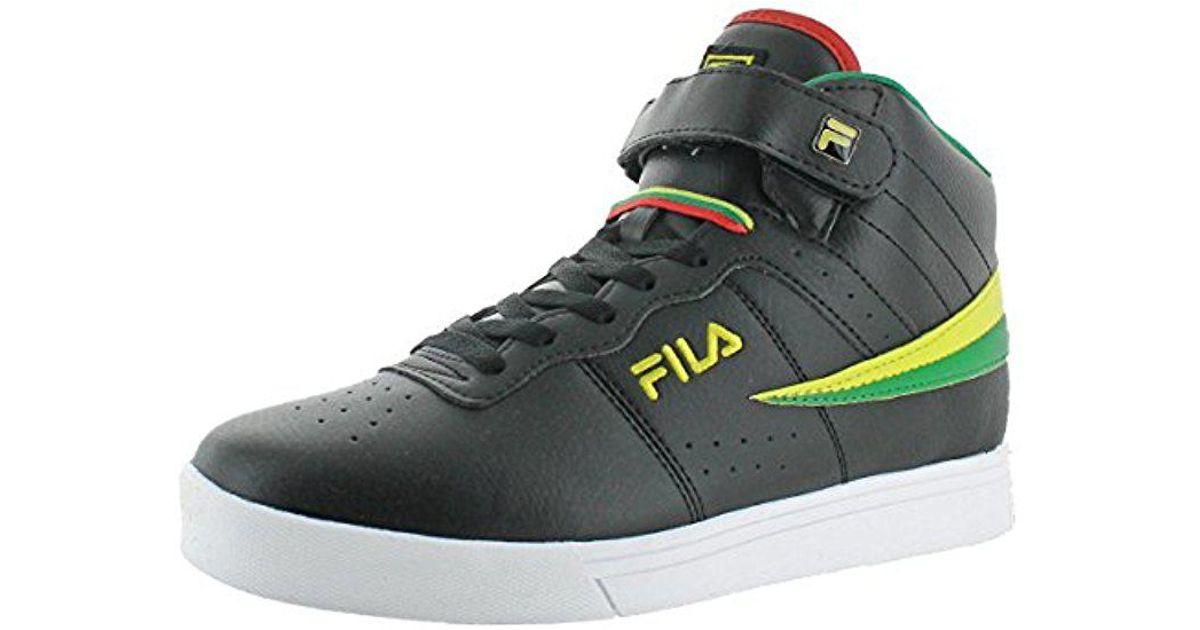 4588cf73adfc8 Fila Green Vulc 13 Mid Plus 2 Walking Shoe for men