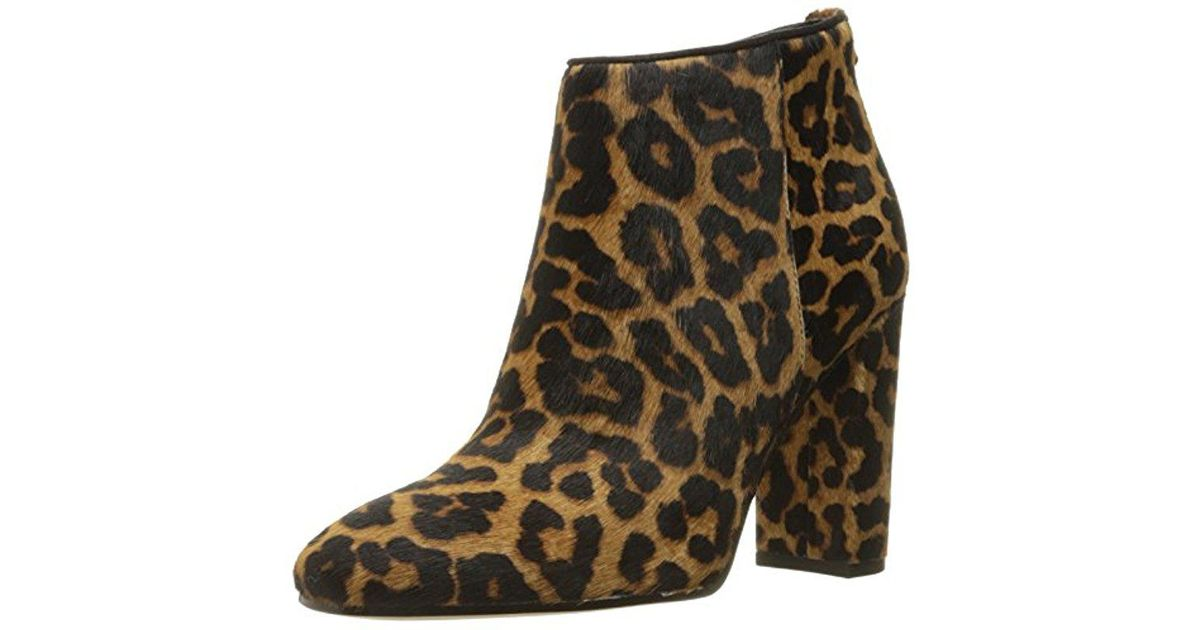 8bb38dc9d Lyst - Sam Edelman Cambell Ankle Bootie in Brown