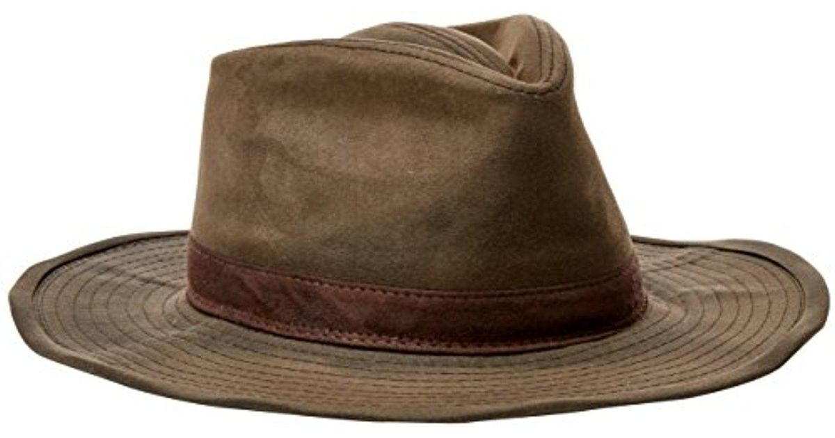 Lyst - Pendleton Waxed Cotton Outback Hat 9b28d835e58