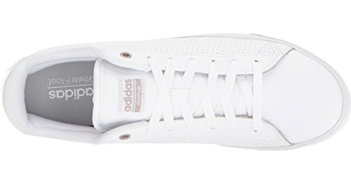 Adidas Cloudfoam Daily Qt Cl White/white/grey 2 10 M Us