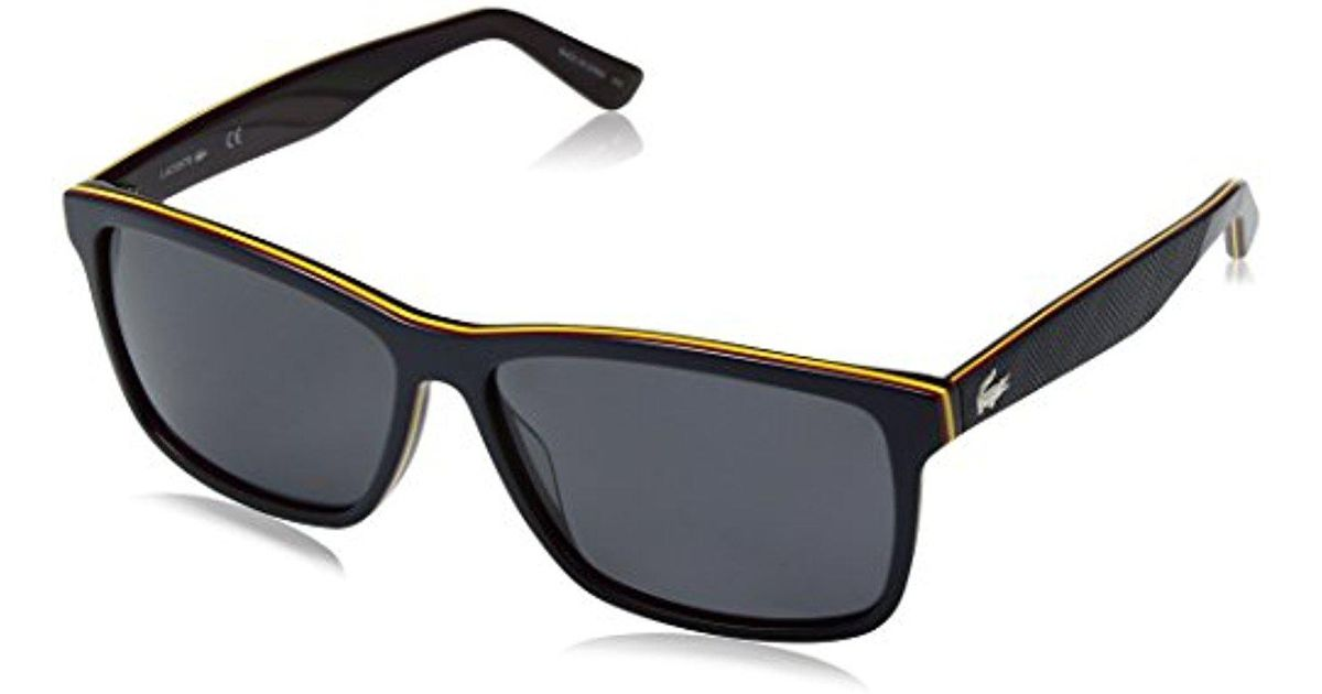 6bd81a12e4b Lyst - Lacoste Polarized Sunglasses - L705sp in Blue for Men