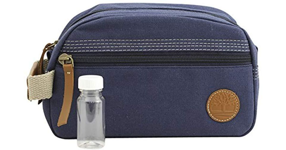 d5b3be5427 Lyst - Timberland Travel Kit Toiletry Bag Organizer in Blue for Men