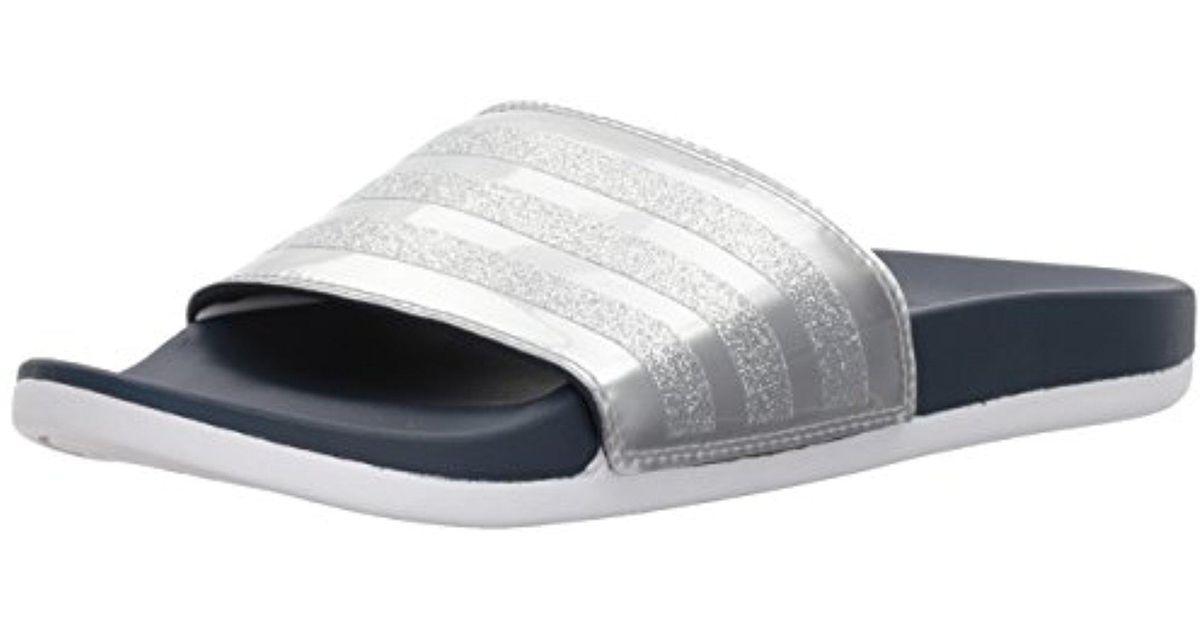 27ca1ccaedeb Lyst - adidas Adilette Cf+ Explorer W Sport Sandal in Gray