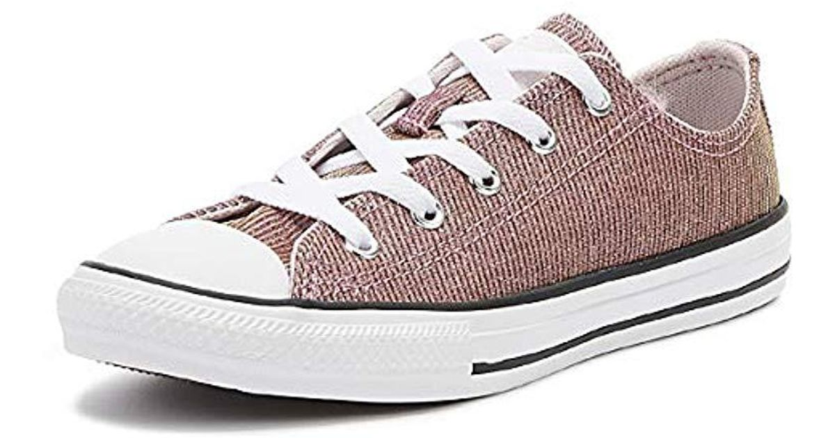 Converse CTAS Big Eyelets Ox Synthetic Casual Low-Top Youth Trainers