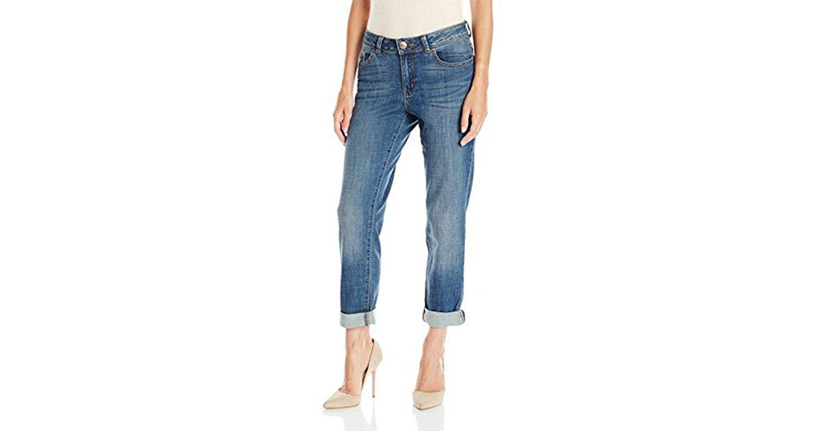 2396df77 Lee Jeans Modern Series Curvy-fit Ruby Boyfriend Jean in Blue - Lyst
