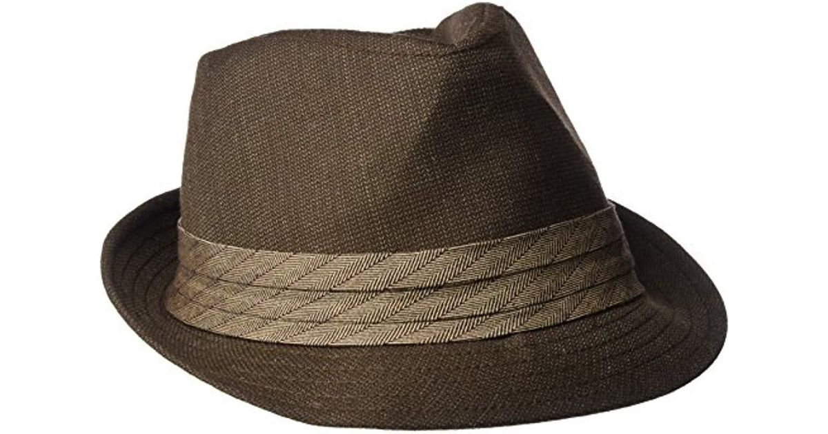 67c05e87d Goorin Bros Brown Baritone Classic Fedora for men