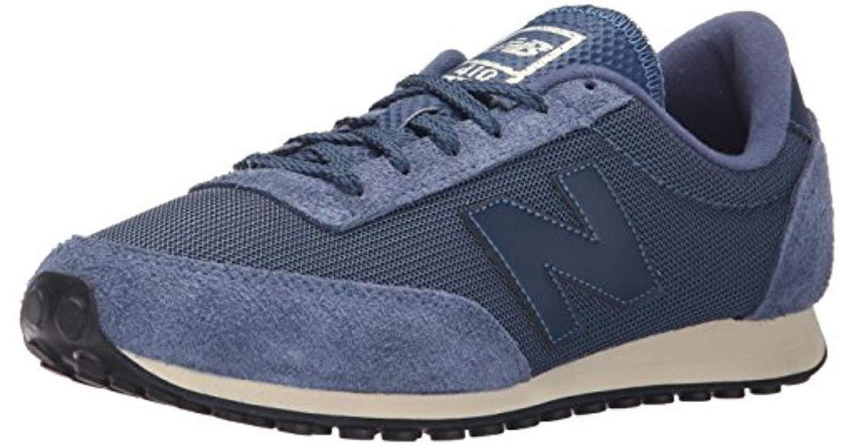 e503eb0385ac3 New Balance - Blue Unisex Adults' U410 Clásico & Lifestyle Low-top Sneakers  for Men - Lyst