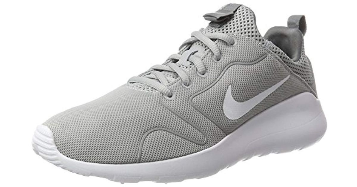 finest selection 18949 4cd8d Nike Wmns Kaishi 2.0 Fitness Shoes Grigio (wolf White cool Grey), 8 Uk in  Gray - Lyst