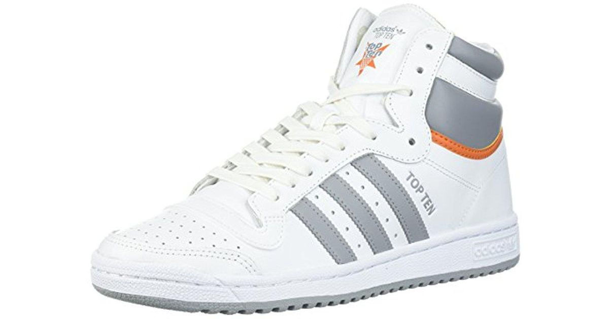 buy online 1bdd4 8a677 Lyst - adidas Originals Adidas Top Ten Hi Fashion Sneaker fo
