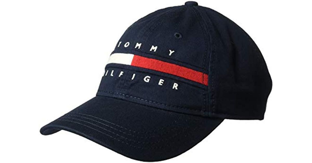 b6ff4dd254e Lyst - Tommy Hilfiger Avery Dad Hat in Blue for Men