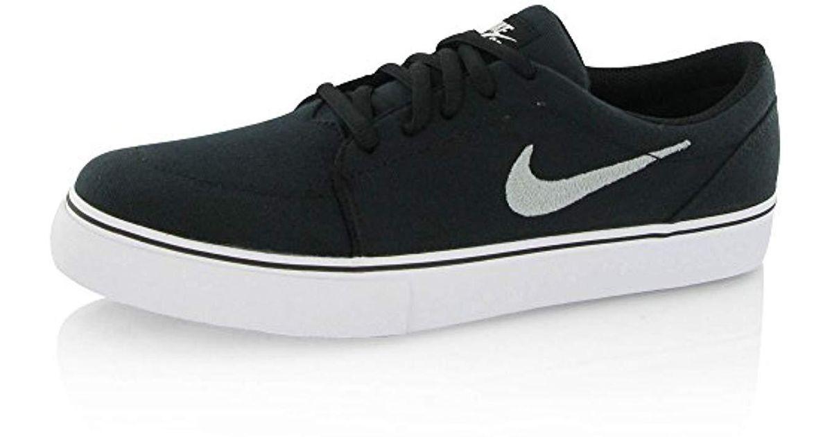 Nike Satire Canvas Skateboarding In Black For Men Lyst