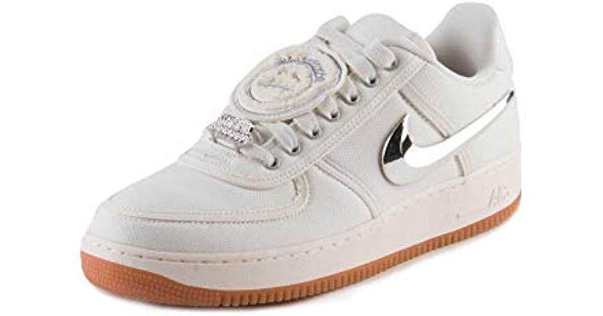best website 1e10f f8cee Nike Multicolor Air Force 1 Low Travis Scott Sneaker Aq4211-101 for men