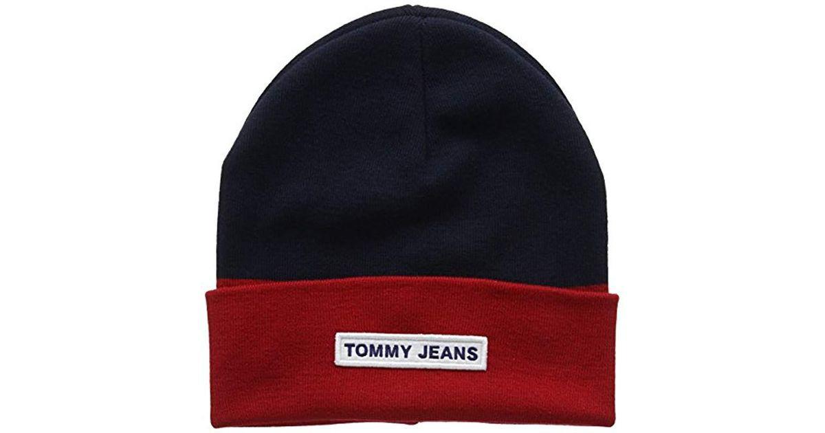7f2cc791 Tommy Hilfiger Tju Logo Beanie Baseball Cap, Blue (corporate 901), One Size  in Blue for Men - Lyst