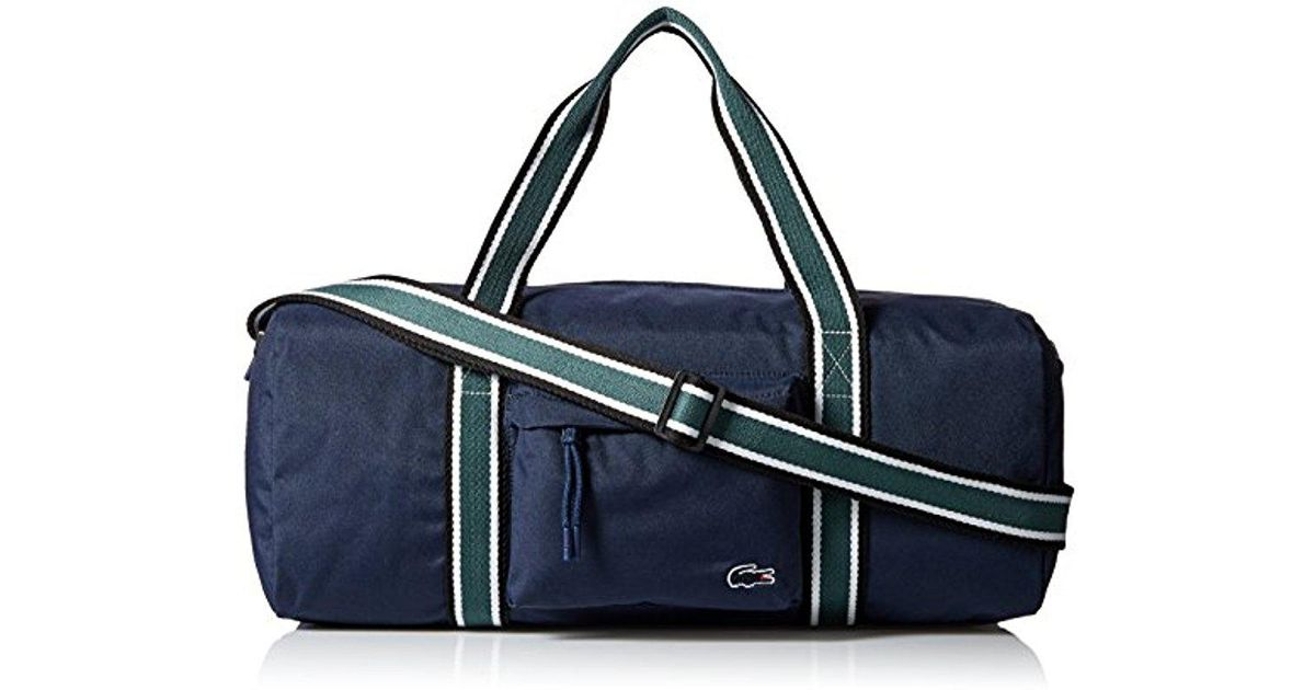 ccc08c61a6d03 Lyst - Lacoste Tennis Set Duffle Bag in Blue for Men