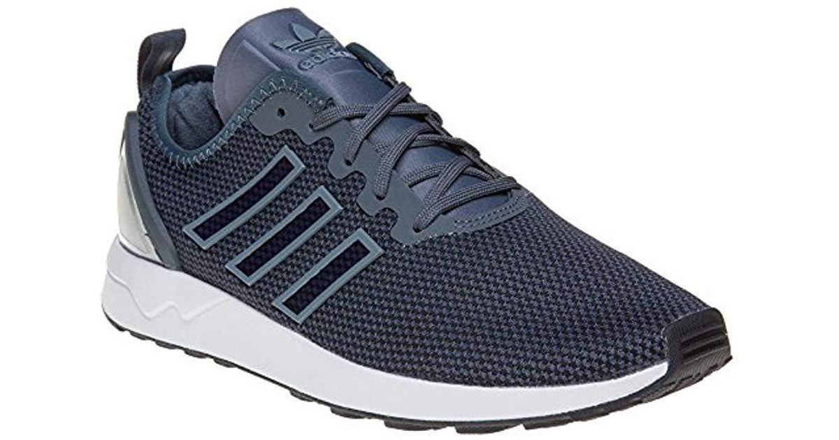 4e6e3956d65 Adidas   s Zx Flux Adv Running Shoes in Blue for Men - Lyst
