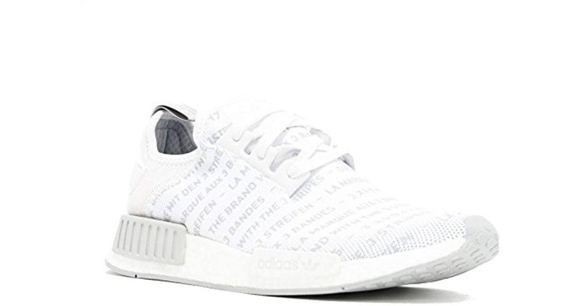 Nmd R1 White White Black E7a1f6