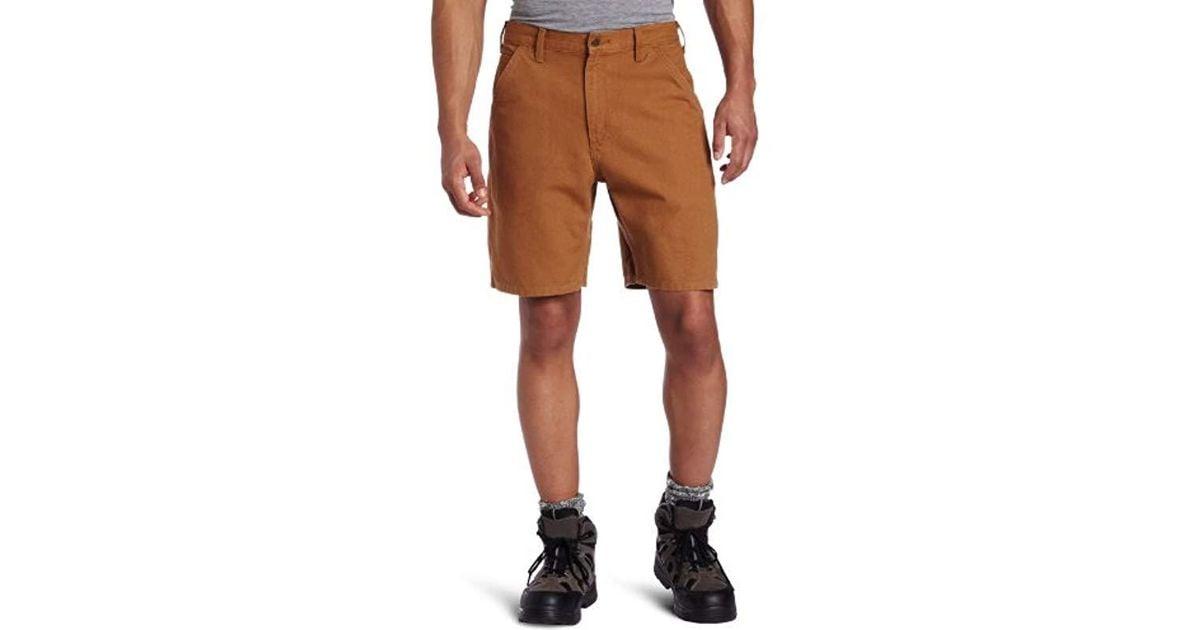 "Carhartt Men/'s Denim Jean Carpenter Shorts 8.5/"" Multiple Waist Sizes B28 NEW!"