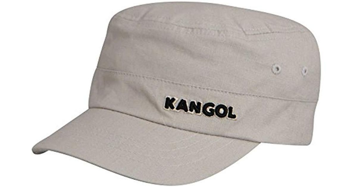 57f10afa630d74 Kangol Ripstop Army Cap in Gray for Men - Lyst