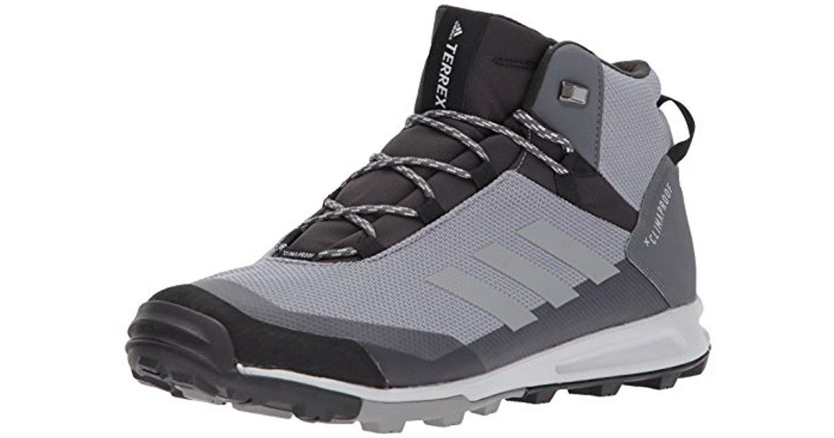 Lyst - adidas Originals Terrex Tivid Mid Cp Walking Shoe in Gray for Men ddc76a718a8