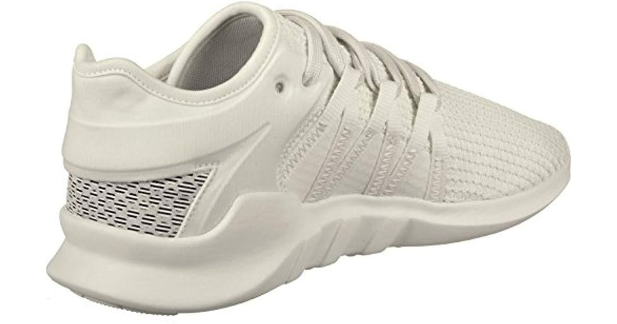 on sale 6530a 237fa ... meet 2be1a c8ee5 Adidas s Eqt Racing Adv W Gymnastics Shoes in White -  Lyst