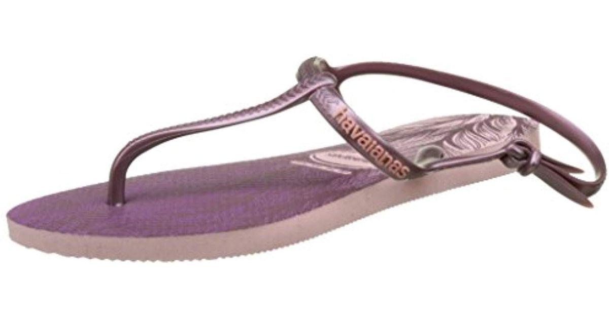 d1ddfa253b473 Havaianas Sandals Freedom Print - Lyst
