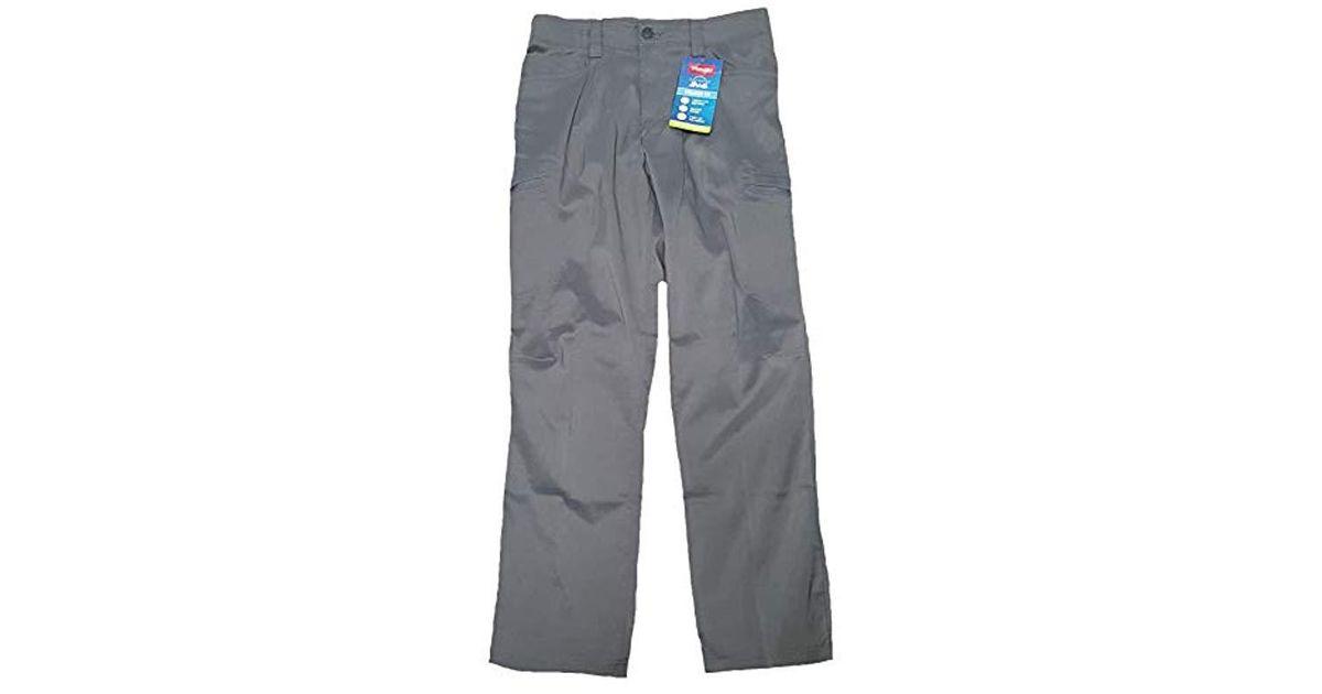 Wrangler Authentics Men/'s Performance Side Elastic Utility Pant