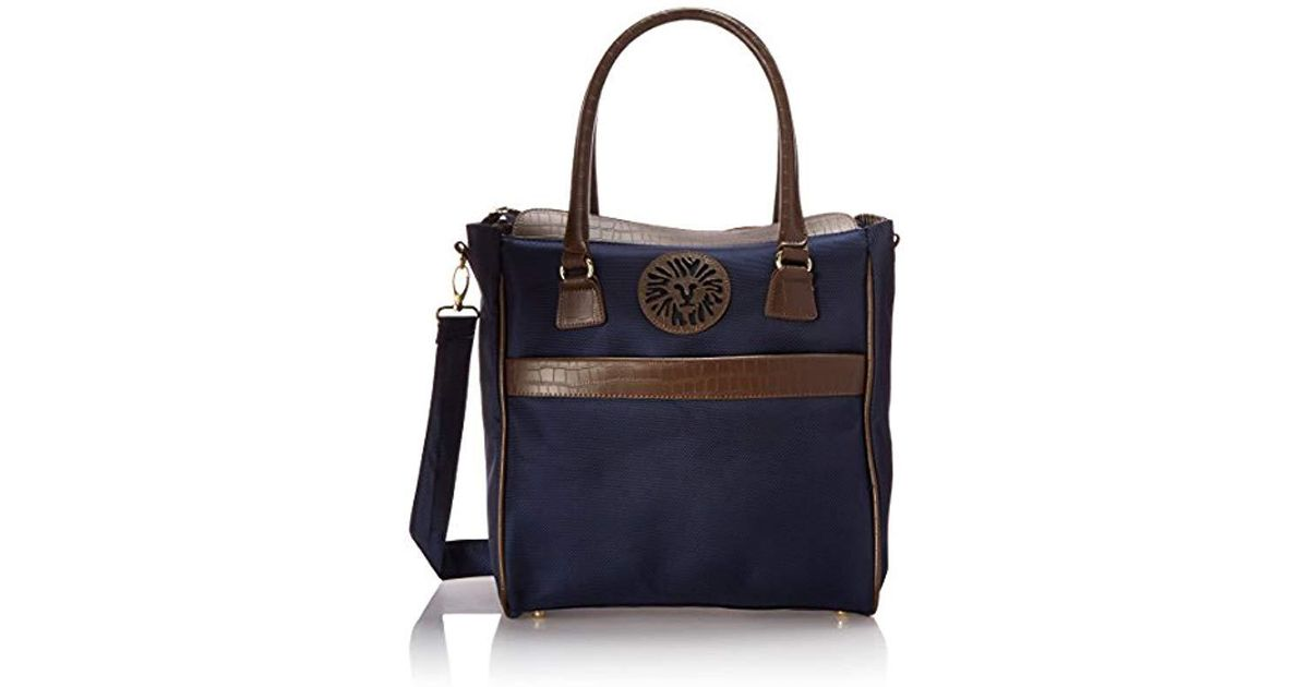 Anne Klein Blue Perfect Travel Tote Bag