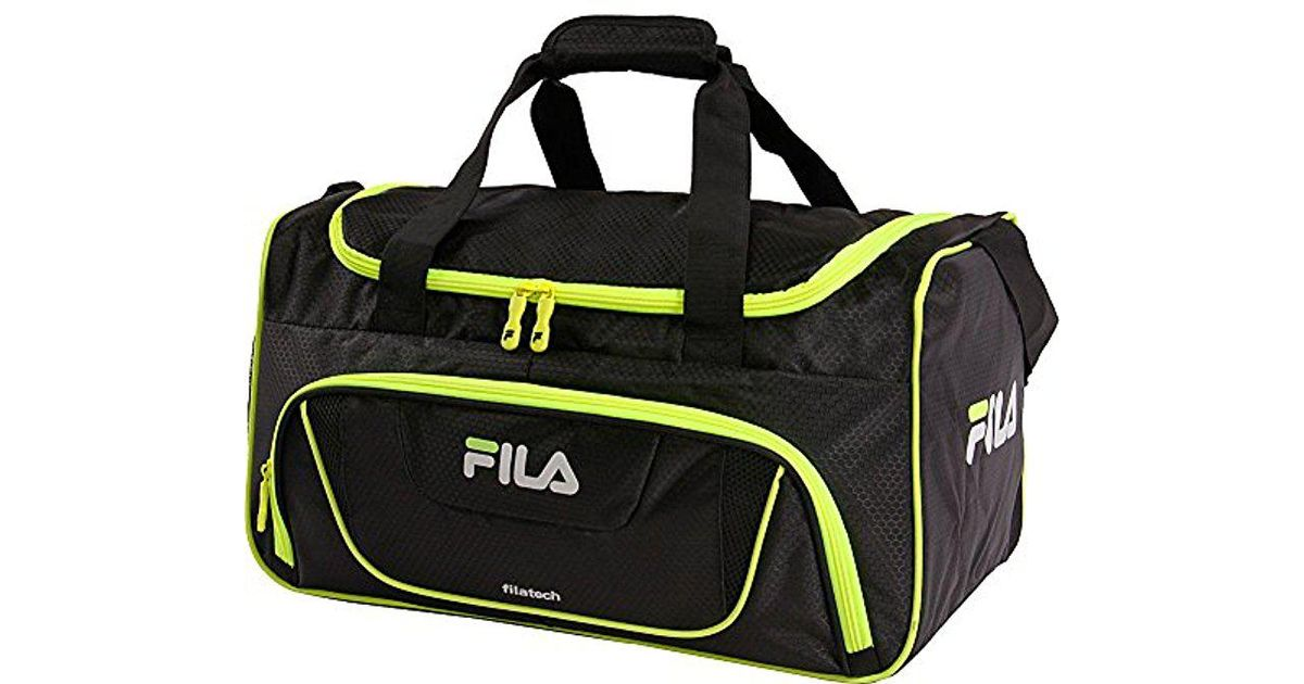 Lyst - Fila Ace 2 Small Duffel Gym Sports Bag Gym Bag - Save 35% 821cfa1884dee