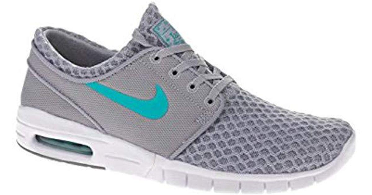 8b0dc672d1af1 Nike Gray Stefan Janoski Max, Unisex Adults' Low-top Sneakers