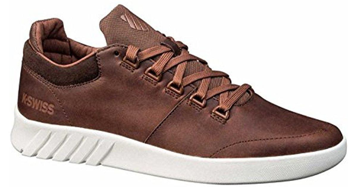 19ccb270abf Lyst - K-swiss Aero Trainer Sneaker in Brown for Men