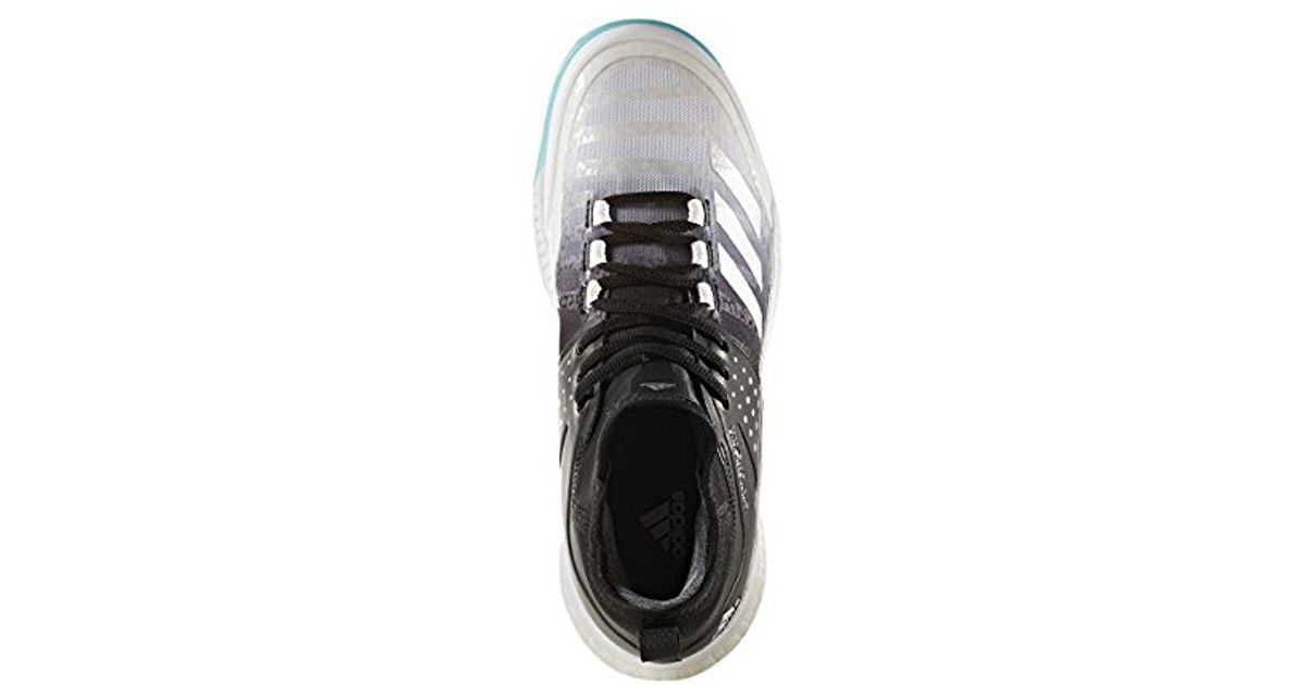 35c9e423fc9 Adidas Originals Adidas Shoes | Crazyflight X Mid Volleyball Shoe -  White/metallic Silver/black (13.5 M Us) for men