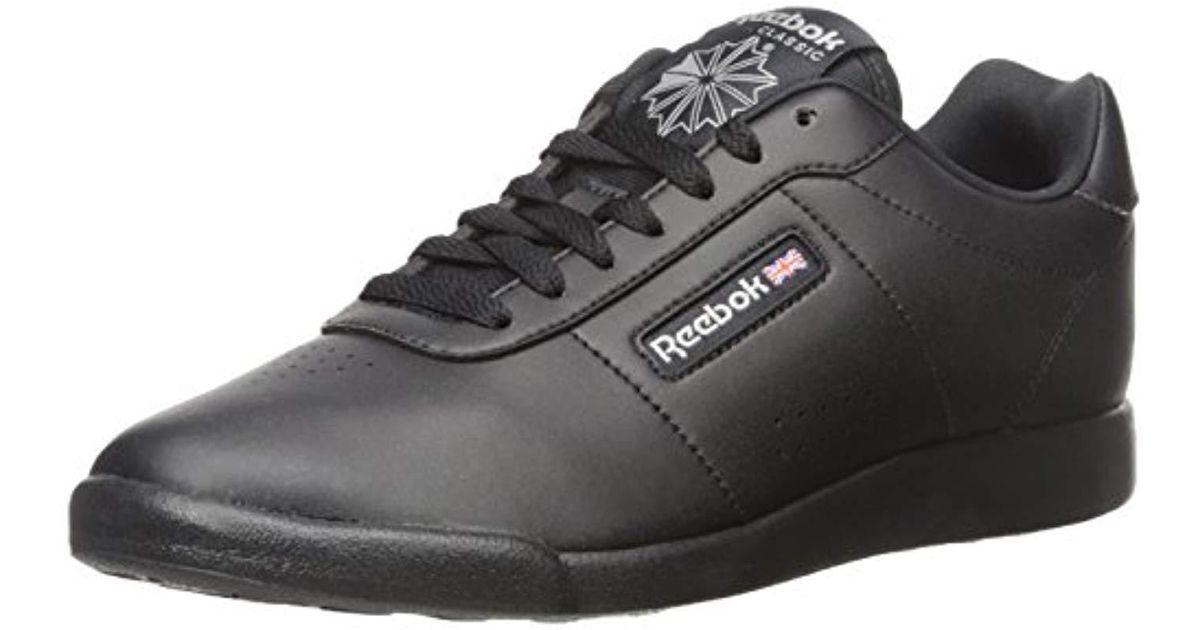 2a0c981473d5 Lyst - Reebok Princess Lite Classic Shoe in Black - Save 22%