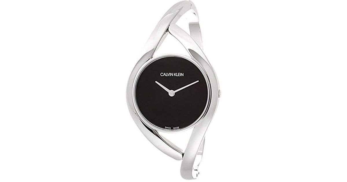 Reloj Analógico para Mujer de Cuarzo con Correa en Acero Inoxidable K8U2M111 Calvin Klein de color Multicolor