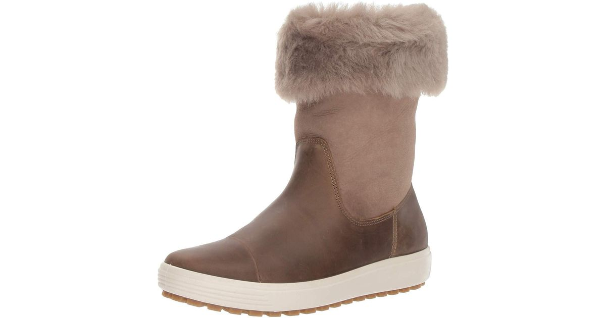 Ecco Soft 7 Tred Fashion Boot in Brown