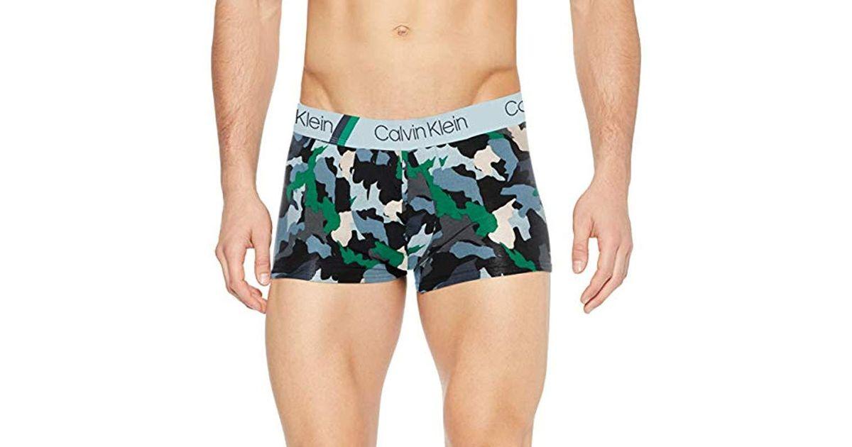 Pour En Calvin De Boxer Green Trunk Bain Klein Coloris Homme 0kwX8nOP