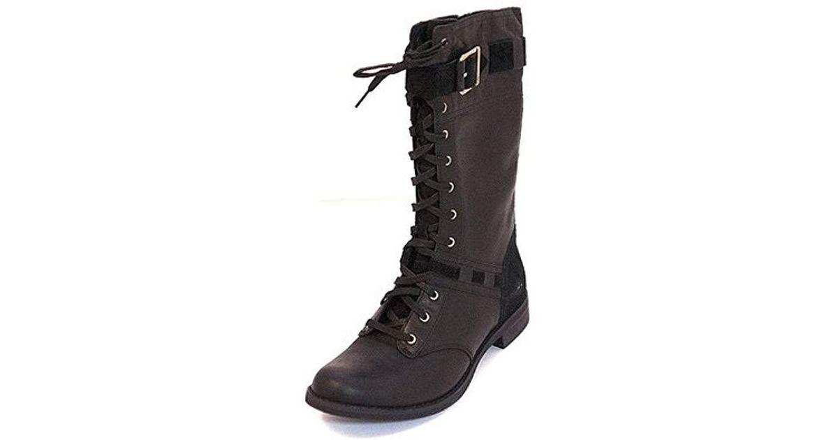 18cae7e856e Timberland Black Savin Hill Mid Lace Boot