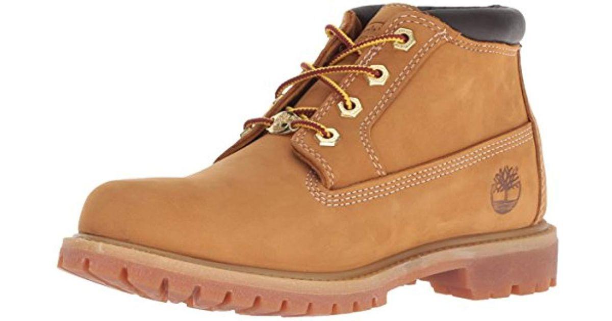 TIMBERLAND 23399  Damen Nellie Chukka Double Waterproof Boot Nubuk Wheat