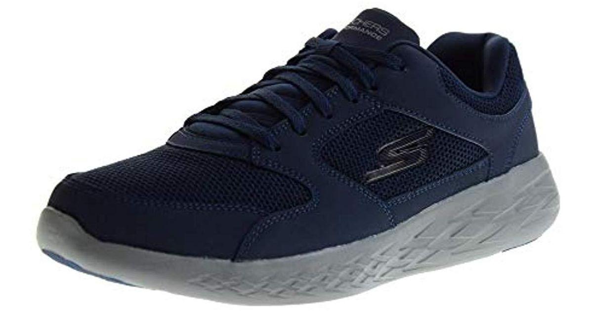 Skechers Blue Shoes Low Sneakers 55085 Blu for men