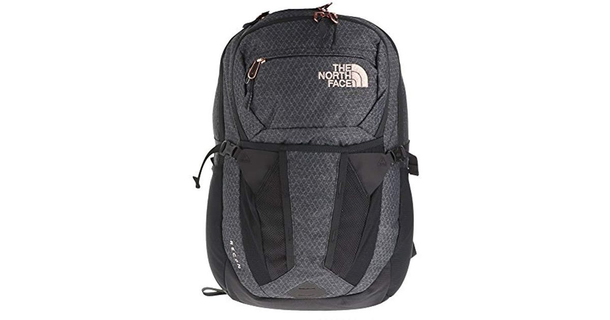 e264ac49d The North Face W Recon Tnf Tnt Black Htr/burnt Coral Met S Daypack Size Os